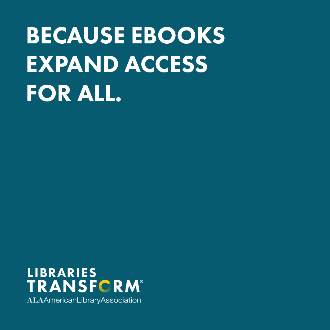 Instagram share: Because libraries expand access for all. Libraries Transform